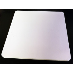 Anti-vibrations mat 100x100x6mm - silicon
