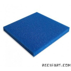Blue foam (fine) 50 x 50 x 5 cm