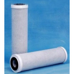 Carbon filter for ultrafiltration
