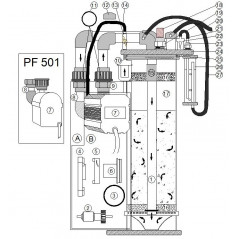 Pump for PF 601