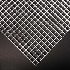Optical grid 60x60cm - white