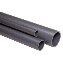 PVC pipe grey 12mm
