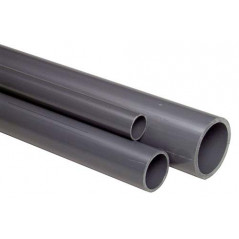 PVC pipe grey 20mm