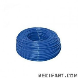 "RO water hose 1/4"" (blue)"
