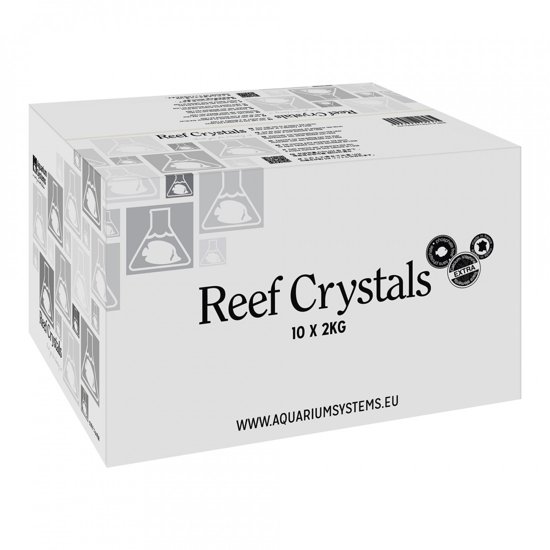 Aquarium systems 20kg Reef Crystals salt box (2kg doses)