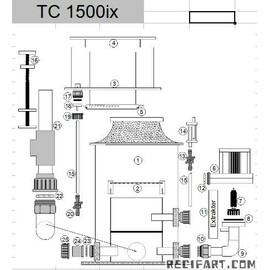 Piping for TC 1500ix skimmer pump