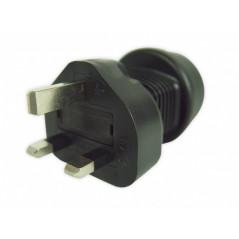 UK plug to EU socket