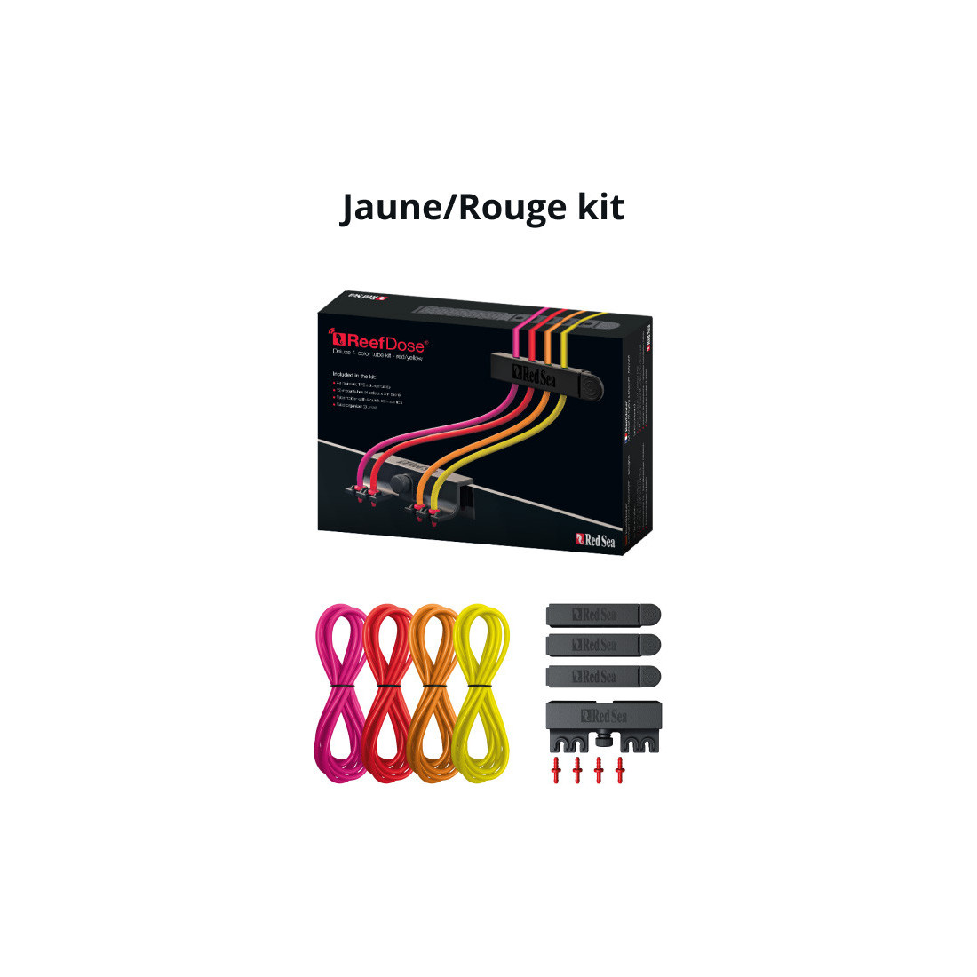 Red Sea Deluxe 4-color hose kit for Reefdose