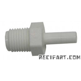 "1/4"" connector with RO pipe"