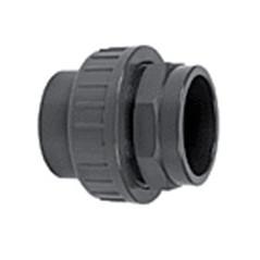 Union connector PVC 40mm