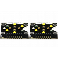 2 LED-Clusters for replacement for Mitras LX 6200