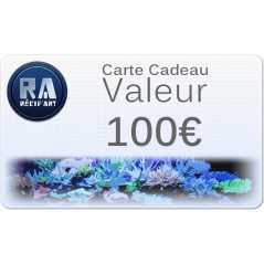 Gift card Recif'Art 100 euros