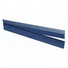 Overflow comb